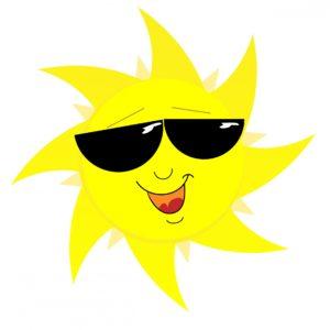 smilng sun