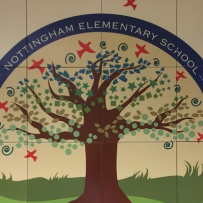 Welcome to Nottingham Elementary Tree Wall Mosaic