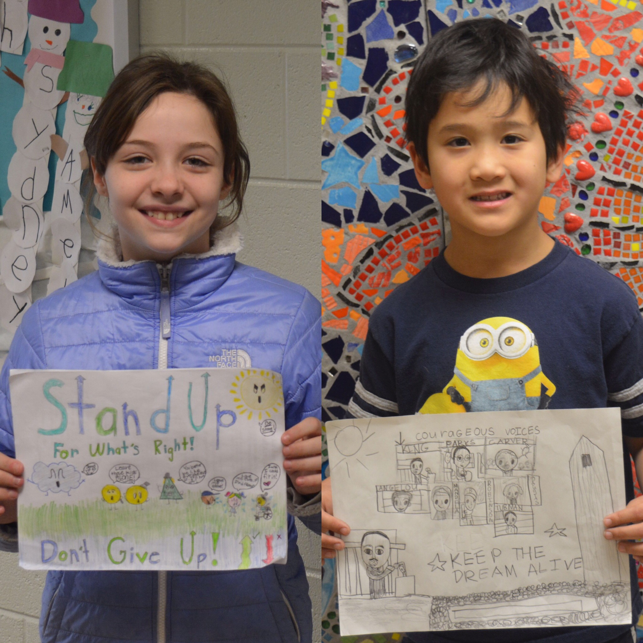 Dr. Martin Luther King, Jr. Literary & Visual Arts Contest Winners