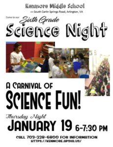 Kenmore Science Night