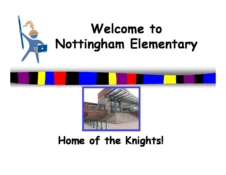 NTM Welcome 2016 Kindergarten