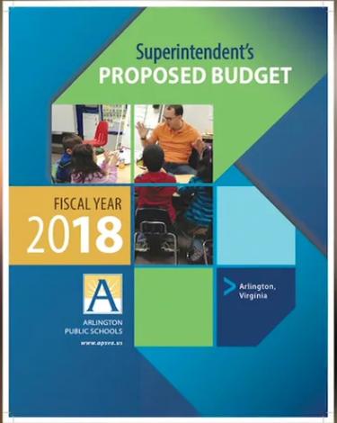Superintendent's 2018 Budget