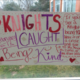 Knights Caught Being KInd Poster