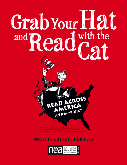 Grab your Hat and Read with Cat