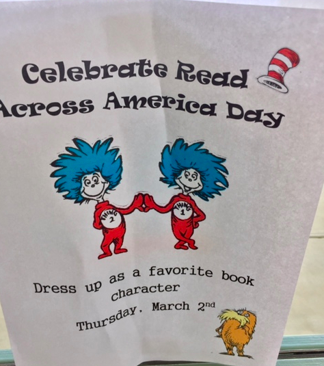 Celebrate Read Across America