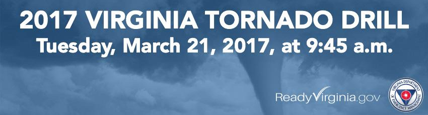 Tornado Drill Banner
