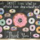 Volunteer Donut Bulletin Board