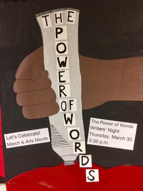 Writers' Night was a Great Success!