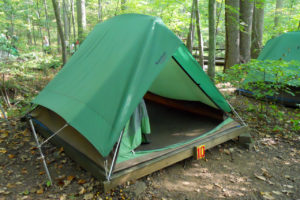 Outdoor lab tent