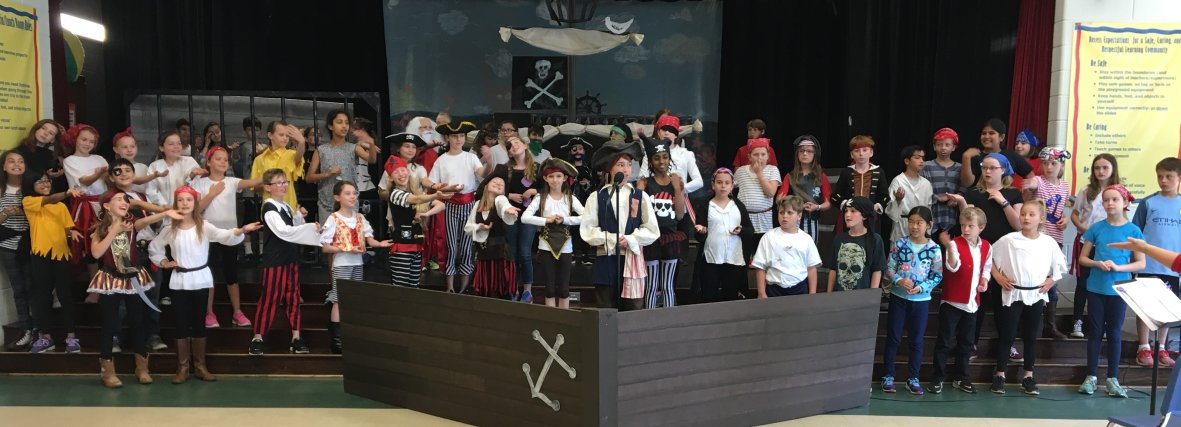 Pirates! Choral Performance