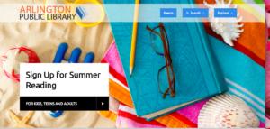 Arlington Public LIbrary Summer Reading 2017