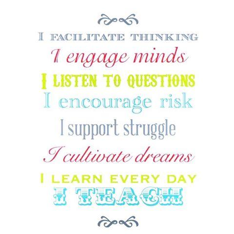 Inspiratonal teaching quotes
