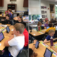 Students with iPads
