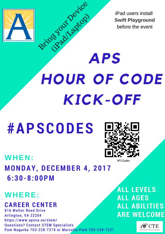 Hour of Code Flyer