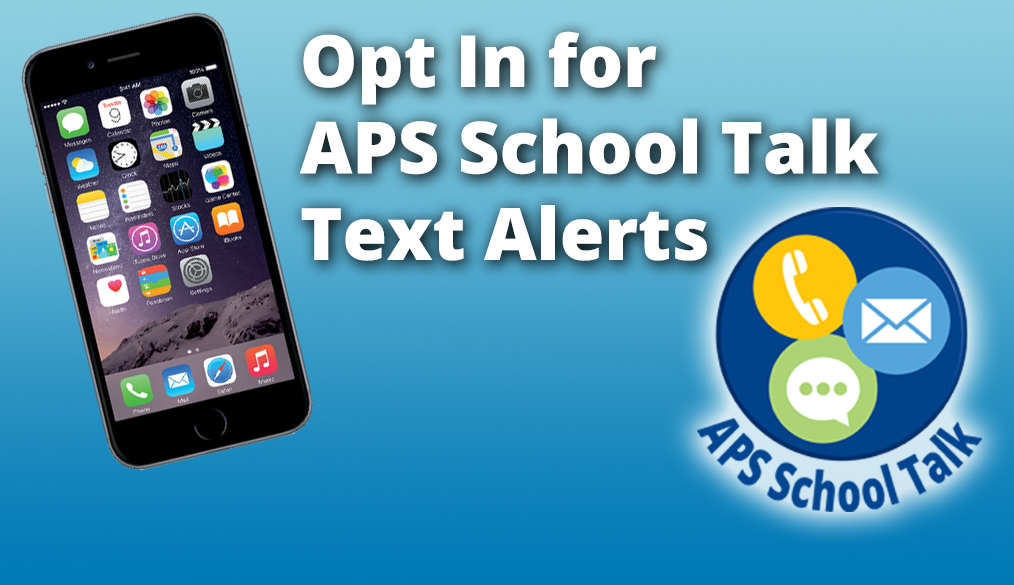 Opt-In to APS Text Alerts