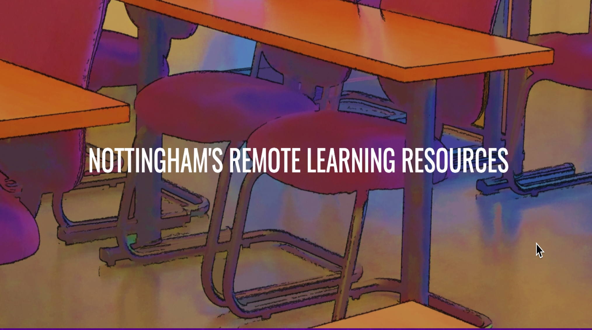 Nottingham's Remote Learning Resources