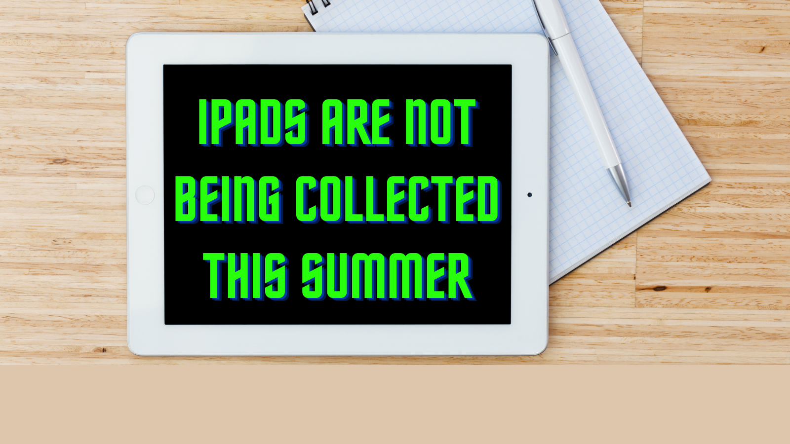 سمر iPad والدین کے لئے معلومات